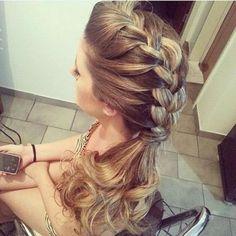 penteados de noiva com trança - Pesquisa Google