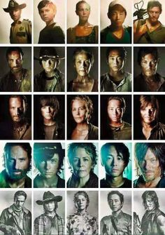 The Walking Dead-- The Atlanta 5!!