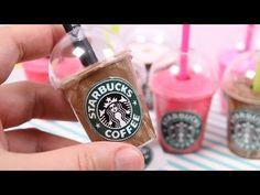 DIY Mini Starbucks Drink Pen Holder - YouTube