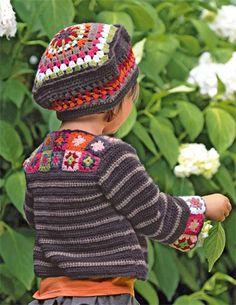 Bergere de France Jacket & Beret Crochet Pattern
