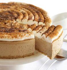mamarecipes: NO BAKE Cappuccino Cheesecake Cheesecake Roll Recipe, Fried Cheesecake, Strawberry Cheesecake, Cake Ingredients, Homemade Taco Seasoning, Dessert Recipes, Desserts, Popular Recipes, Recipes