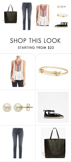"""""""Summer"""" by rainbow1975 ❤ liked on Polyvore featuring Lucky Brand, Madewell, Lord & Taylor, Zara and J Brand"""
