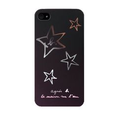 Agnes B Silver Stars Matte Black iPhone Case art-art-gallery Real Box, Celebrities Exposed, Video Camera, Silver Stars, Online Gifts, Cross Stitching, Matte Black, Cool Pictures, Iphone Cases