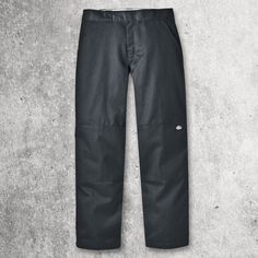 This sturdy work pant sits slightly below the waist and has extra room in the seat and thigh with a straight leg. It's crafted from wrinkle resistant poly cotton twill work cloth woven for durability and longevity. This pant has staying power with a two-piece work pant waistband, a super tough double knee construction, and our distinctive tunnel belt loops. A convenient extra pocket on the leg provides extra storage for items you need to keep close at hand. Mens Work Pants, Mens Gear, Extra Storage, Thighs, Leather Pants, Construction, Belt, Pocket, Fitness