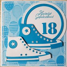 Star Cards, Men's Cards, Boy Cards, Kids Cards, Converse Trainers, Birthday Cards For Women, Masculine Cards, Creative Cards, Paper Piecing