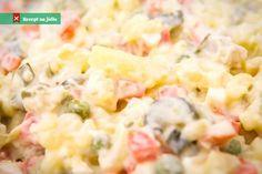 Hawaiian Pizza, Pasta Salad, Potato Salad, Good Food, Food And Drink, Healthy Recipes, Cooking, Ethnic Recipes, Christmas