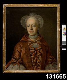 1700___ Damenportrait. Sverige. Nordiska museet