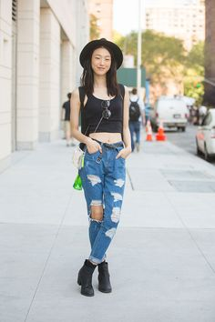 Streetstyle: Choi Sora shot by Melodie Jeng during NYFW Spring 2015