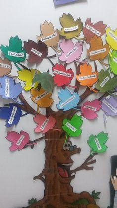 Ceip Ntra. Sra. del Carmen: DIA DE LA PAZ Safari Decorations, School Decorations, Board Decoration, Class Decoration, Preschool Classroom, Kindergarten, Tree Crafts, Paper Crafts, School Diary