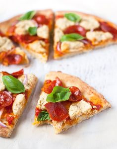 This paleo pizza crust tastes just like the real thing, just without gluten, grains, or dairy. The perfect primal canvas for all your favorite toppings!