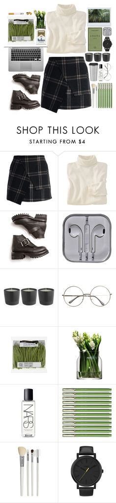 """""""Без названия #44"""" by directionerfirever ❤ liked on Polyvore featuring Chicwish, Woolrich, Opening Ceremony, LSA International, NARS Cosmetics, Cath Kidston and Timex"""