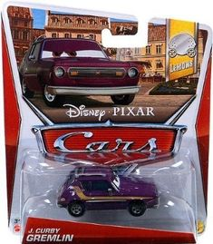 Toy / Game Disney / Pixar CARS Movie 1:55 Die Cast Car J. Curby Gremlin [Lemons 1/7] - All Time fave character 4KIDS http://www.amazon.com/dp/B00CGG58GM/ref=cm_sw_r_pi_dp_axUKwb12MZX35