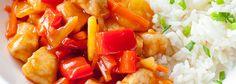 Wpis na blogu Pork, Chinese, Favorite Recipes, Sweet, Ethnic Recipes, Blog, Pineapple, Kale Stir Fry, Candy
