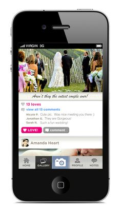 An interactive #wedding album created by your guests. For You. Forever. www.WedPics.com