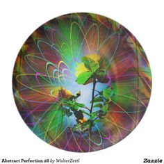 Abstract Perfection 28 Dinner Plates