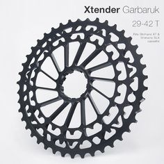 We were just tipped off of a new set of beautifully-machined steel and aluminum cassette extenders made in Ukraine to get a bit more range out of the biggest of the current Shimano cassettes available. WhileGarbaruk had gone live this summerwith their 29-35-42T cluster that fit on the top of 10 speed SLX, XT and …