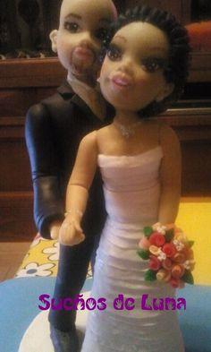 Personalized Wedding, Cold Porcelain, Boyfriends