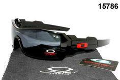 Oakley Oil Rig Sunglasses Red - Black Frame