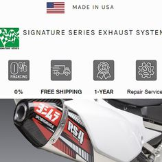 Great Exhaust Yoshimura Stainless Slip-On Exhaust Yamaha 2020 Rs 4, Motorcycle Parts And Accessories, Performance Parts, Exhausted, Motocross, Atv, Carbon Fiber, Yamaha, Slip On