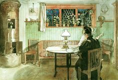 When the Children Have Gone to Bed ~ carl larsson