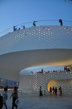 Denmark pavilion at the 2010 Shanghai World Expo