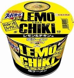 エースコック カップ麺「夏季限定スーパーカップ1.5倍 レモチキ 塩ラーメン」