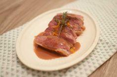 Eendenborst met portsaus; een feestelijk stukje vlees met een zoete en kruidige…