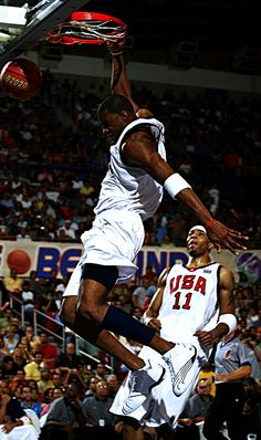 Tracy McGrady Kenyon Martin USA Basketball Team
