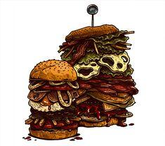 EAT - Illustration & Lettering on Behance
