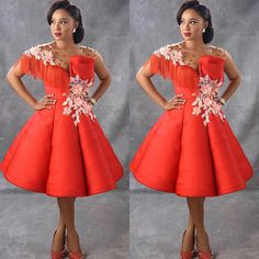 Swipe to the left ⏭ to see Beautifully made stylish dresses front bella @ Kindly… African Fashion Designers, African Print Fashion, African Fashion Dresses, African Attire, African Dress, African Style, Classy Short Dresses, Short Lace Dress, Stylish Dresses
