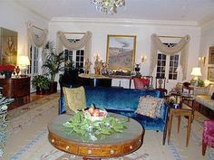 Louisiana Governors Mansion Drawing Room
