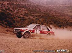 Acropolis Rally 1980Maciej Stawowiak - Ryszard ŻyszkowskiFSO Polonez 2000