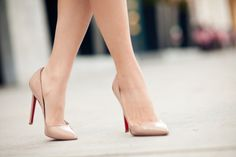 the perfect nude shoe ♥