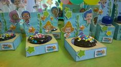 Porta cupcake Bubble Guppies