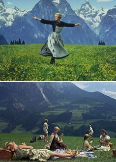 Sound of Music - watched this every holiday season at least once with my friend Marti growing up!