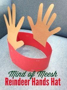 Reindeer Hands Hat www.mindofmeesh.com