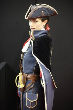 Haytham Kenway. Assasins Creed. Cosplayer: Teo 'aka' Sulian Miles (France). Photo: Anistellos