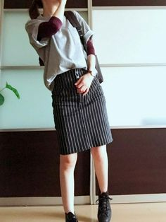 しまむらのスカートを使ったりんのコーディネートです。WEARはモデル・俳優・ショップスタッフなどの着こなしをチェックできるファッションコーディネートサイトです。