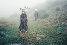.#mask #animals #woods #vintage #art #photography #surreal #surrealism #pale