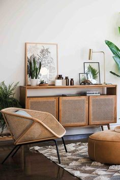 retro home decor MODERN MEETS RETRO Theres no denying that Rattan has made a comeback Serious room envy here - especially that Anja Buffet Shop the look now! Retro Home, Decor, Living Room Designs, Home Furniture, Living Decor, Home Decor, House Interior, Room Envy, Apartment Decor