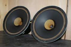 Atelier Rullit Vintage 8 field coil full range speakers for low powered SE amps.