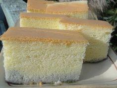 Recipe Yields a 7 in cake Recipe: corn oil milk tsp salt egg yolk 1 egg cake flour 1 tsp vanilla extract egg whites sugar . Sponge Recipe, Sponge Cake Recipes, Vanilla Sponge Cake, Vanilla Cake, Fudge, Ogura Cake, Homemade Meatloaf, Cotton Cake, Asian Cake