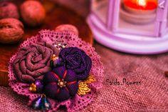 Fabric brooch | Купить брошь в интернет магазине на Ярмарке Мастеров
