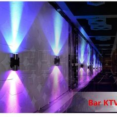 The Scatola LED wall lamp features an aluminum body. It runs on an LED light source and is energy efficient. Popular modern tube design, suit for home, bar, coffee shop, indoor and outdoor decoration. Home Theater Room Design, Home Cinema Room, Home Theater Rooms, Club Lighting, Pipe Lighting, Nightclub Design, Church Stage Design, Underground Bunker, Neon Room
