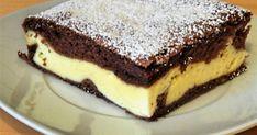 Kakaós-túrós sütemény Glaser konyhájából recept képpel. Hozzávalók és az elkészítés részletes leírása. A Kakaós-túrós sütemény Glaser konyhájából elkészítési ideje: 60 perc Cookie Recipes, Dessert Recipes, Desserts, Slovak Recipes, Sweets Cake, Healthy Diet Recipes, Sweet And Salty, Mini Cakes, Sweet Recipes