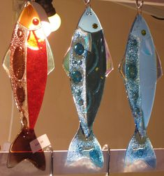 Fused glass fish - could these be made small enough for a key baub?