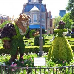 Beauty and the Beast @ Epcot Flower and Garden Festival