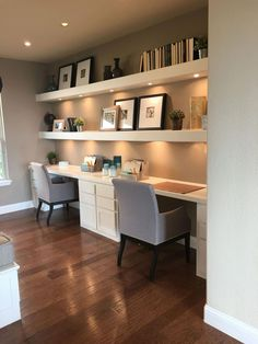Home office space, guest room office, home office design, home office decor Home Office Space, Home Office Design, Home Office Decor, House Design, Home Decor, Office Desk, Office Setup, Office Organization, Basement Office