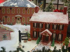 Incredible gingerbread houses that showcase a snapshot of a candied cookie town.