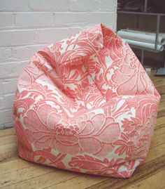 Easy Bean Bag Chair Pattern